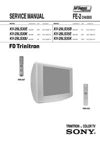 Serviceanleitung Sony RM-932