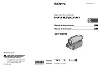 User Manual Sony DCR-HC90E