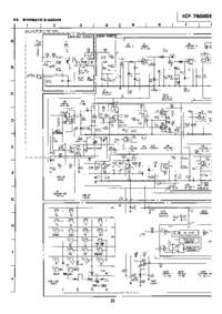 Cirquit Diagramma Sony ICF-7600DS