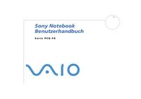 Instrukcja obsługi Sony PCG-FX