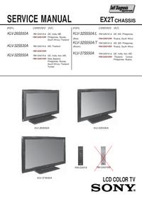 Instrukcja serwisowa Sony KLV-37S550A