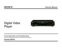 Manual de serviço Sony DVP-S530D