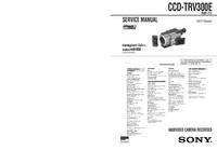 Manual de serviço Sony CCD-TRV300E