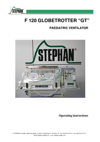 "Manual del usuario Stephan F 120 GLOBETROTTER ""GT"""