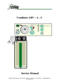 Manual de servicio Stephan ABV – A - U