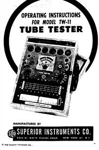 Serwis i User Manual Superior TW-11