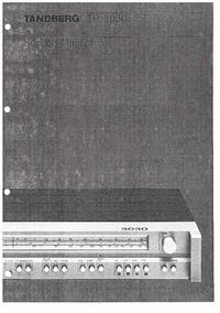 Service Manual Tandberg 3030