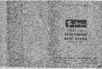 Service- und Bedienungsanleitung Taylor 171A