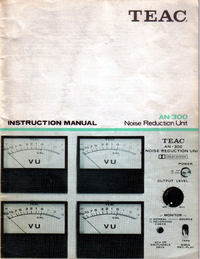 Teac-6084-Manual-Page-1-Picture
