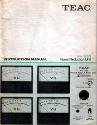 User Manual Teac AN-300