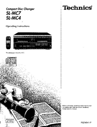 Manuale d'uso Technics SL-MC7