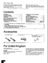 User Manual Technics SH GE90