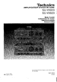 Technics-4585-Manual-Page-1-Picture