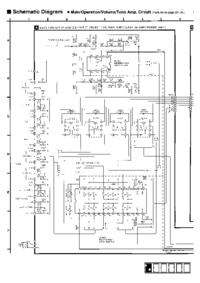 Cirquit diagramu Technics A700