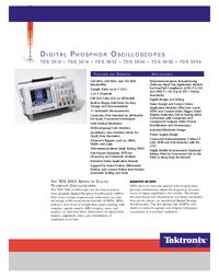 Datenblatt Tektronix TDS 3012