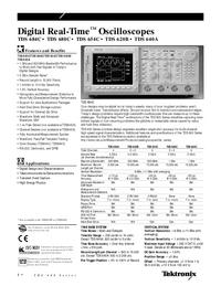Технический паспорт Tektronix TDS 654C