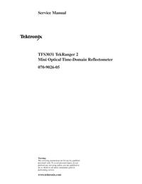 Service Manual Tektronix TFS3031 TekRanger 2
