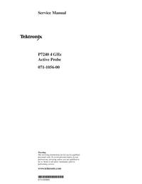Servicehandboek Tektronix P7240