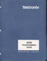 Boek Tektronix GPIB Programing Guide