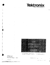 Tektronix-2524-Manual-Page-1-Picture
