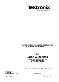 Tektronix-2548-Manual-Page-1-Picture