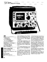 Tektronix-6478-Manual-Page-1-Picture