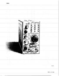 Datenblatt Tektronix 7B92