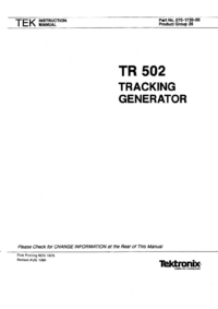 Tektronix-6488-Manual-Page-1-Picture