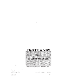 Tektronix-6490-Manual-Page-1-Picture