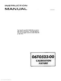 Serwis i User Manual Tektronix 84