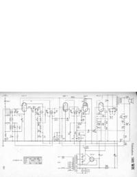 Manuel, schéma cirquit seulement Telefunken 165 WK