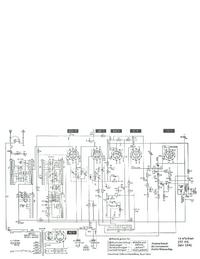 Service Manual, cirquit diagram only Telefunken 166 WK