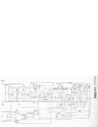 Instrukcja serwisowa, schemat cirquit tylko Telefunken 174 GWK