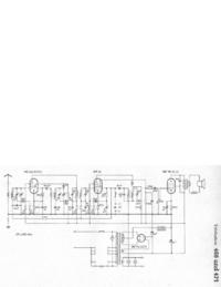 Instrukcja serwisowa, schemat cirquit tylko Telefunken 471
