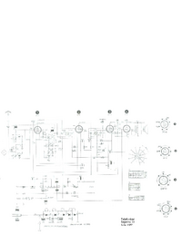 Service Manual, cirquit diagram only Telefunken Bajazzo 51