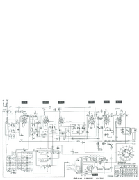 Service Manual, cirquit diagram only Telefunken D 860 WK
