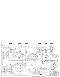 Manuale di servizio, diagramma cirquit solo Telefunken D 860 WK
