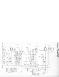 Service Manual, cirquit diagram only Telefunken TA 55 WK