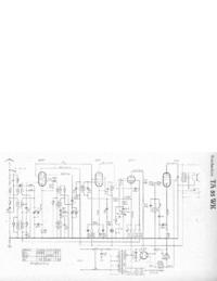 Servicehandboek, Schema alleen Telefunken TA 55 WK