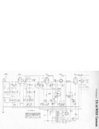 Manual de serviço, diagrama cirquit só Telefunken TA 55 WKK Carmen