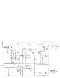 Service Manual, cirquit diagram only Telefunken Wiking 125 WL