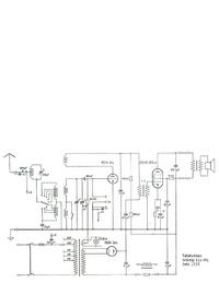 Manuale di servizio, diagramma cirquit solo Telefunken Wiking 125 WL
