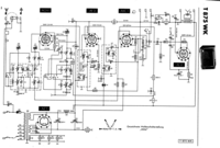 Service Manual, cirquit diagram only Telefunken 875 WK