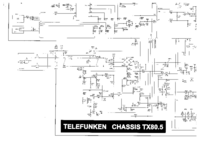 Service Manual Telefunken Chassis TX80.5