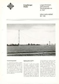 Datasheet Telefunken A 1147