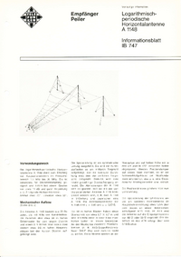 Datenblatt Telefunken A 1148