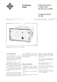 Telefunken-6101-Manual-Page-1-Picture