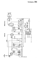 Cirquit Diagram Telefunken 314