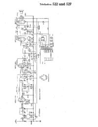 Schaltplan Telefunken 527