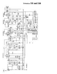 Cirquit Diagram Telefunken 536